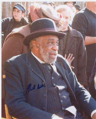 Bill Cobbs signed The Hitter photo