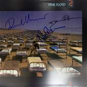Pink Floyd A Momentary Lapse Of Reason signed album
