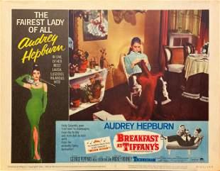 "Audrey Hepburn and George Peppard ""Breakfast at"