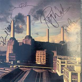 Pink Floyd Animals signed album