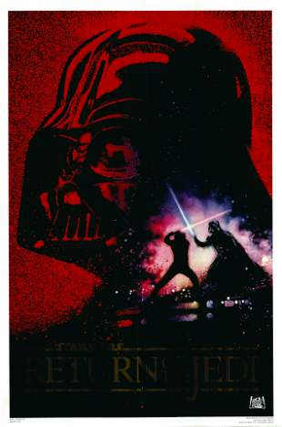 Return of the Jedi 1993 10th Anniversary One Sheet
