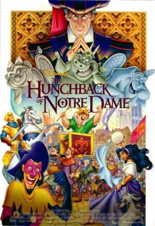 The Hunchback of Notre Dame 1996 original one sheet