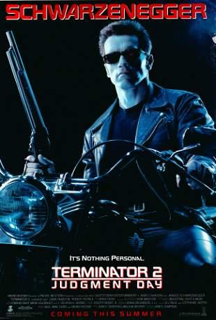 Terminator 2: Judgment Day 1991 original vintage one