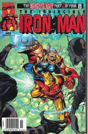 Iron Man Marvel Comic Book #22