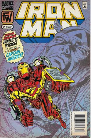 Iron Man Marvel Comic Book #314