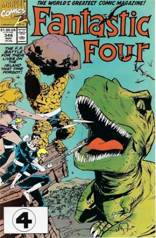 Fantastic Four Marvel Comic Book #346