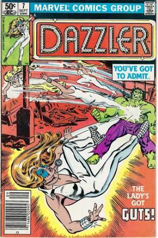 Dazzler Marvel Comic Book #7