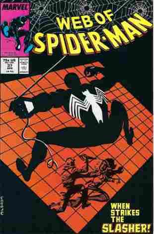 Web of Spider-Man Marvel Comic Book #37