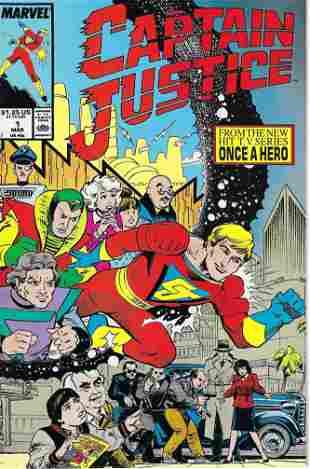 Captain Justice Marvel Comic Book #1