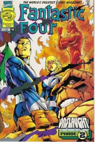 Fantastic Four Marvel Comic Book #416