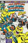Captian America Marvel Comic Book #269