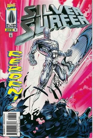 Silver Surfer Marvel Comic Book #118