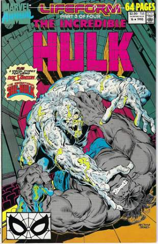 The Incredible Hulk Annual Marvel Comic Book #16