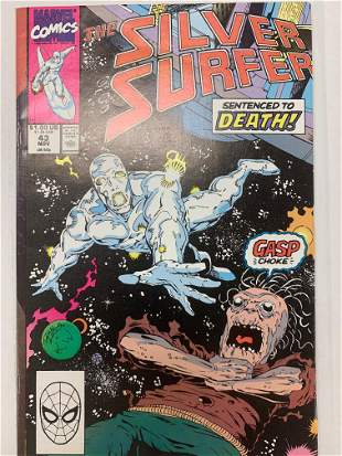 Silver Surfer Marvel Comic Book #43