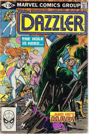 Dazzler Marvel Comic Book #6