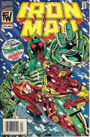 Iron Man Marvel Comic Book #315
