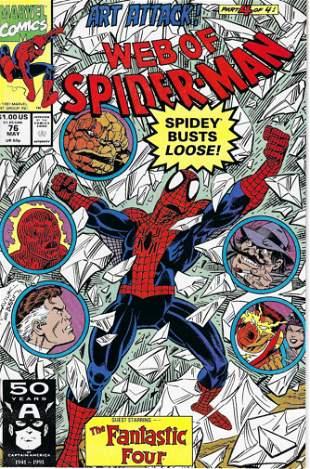 Web of Spider-Man Marvel Comic Book #76