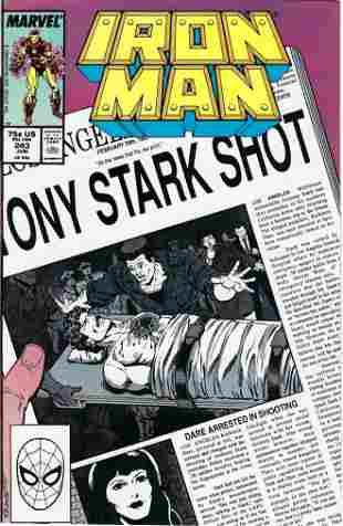 Iron Man Marvel Comic Book #243