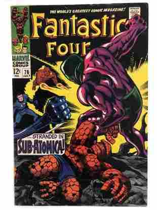 Fantastic Four Marvel Comic Book #76