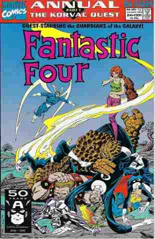 Fantastic Four Annual Marvel Comic Book #24