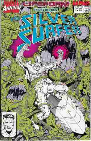 The Silver Surfer Annual Marvel Comic Book #3