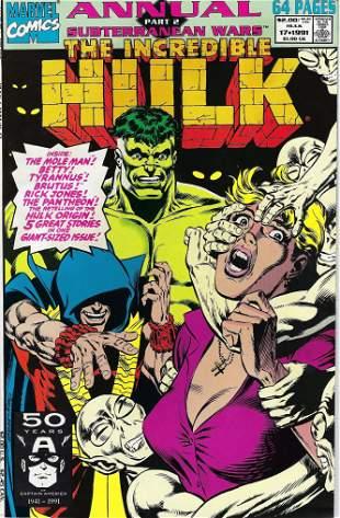 The Incredible Hulk Annual Marvel Comic Book #17