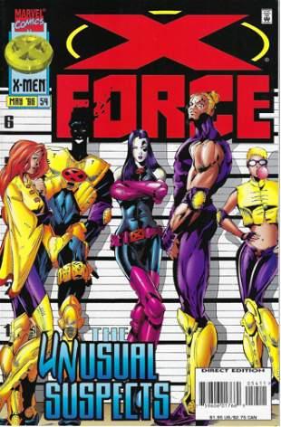 X-Force Marvel Comic Book #54