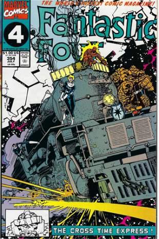 Fantastic Four Marvel Comic Book #354