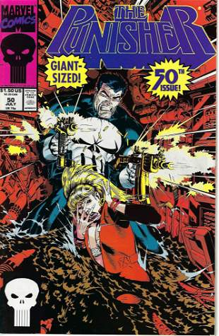 The Punisher Marvel Comic Book #50