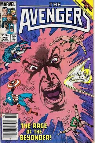 The Avengers Marvel Comic Book #265