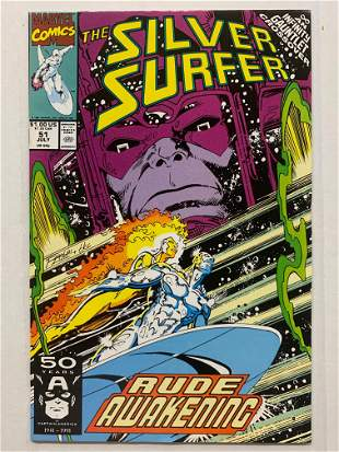 The Silver Surfer Marvel Comic #51