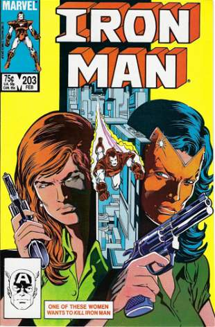 Iron Man Marvel Comic Book #203