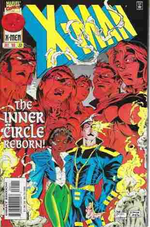X-Man Marvel Comic Book #22