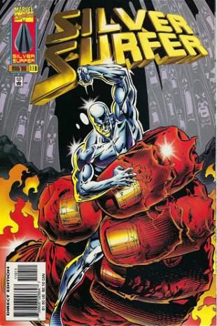 Silver Surfer Marvel Comic Book #119