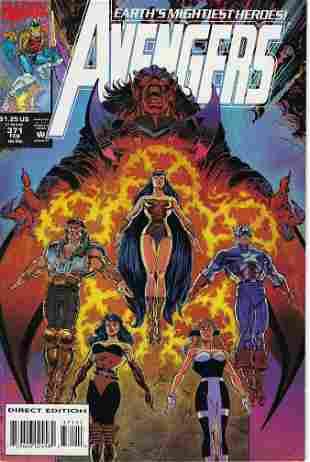 Avengers Marvel Comic Book #371