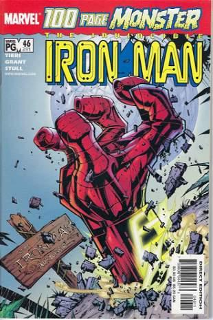 Iron Man Marvel Comic Book #46