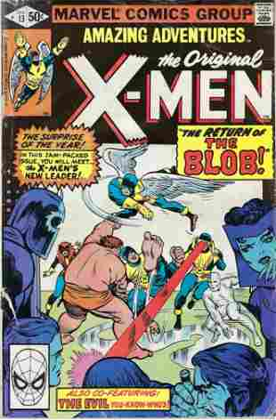 Amazing Adventures The Original X-Men Marvel Comic Book