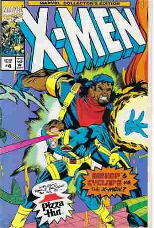 X-Men Pizza Hut Special Marvel Comic Book #4