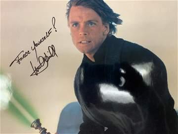 Mark Hamill Star Wars Return Of The Jedi signed photo