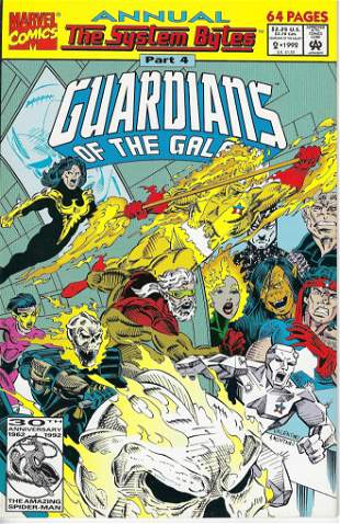 Guardians of the Galaxy Annual Marvel Comic Book #2