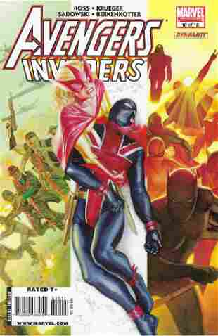 Avengers Invaders Marvel/Dynamite Entertainment Comic