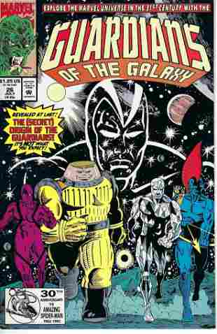 Guardians of the Galaxy Marvel Comic Book #26