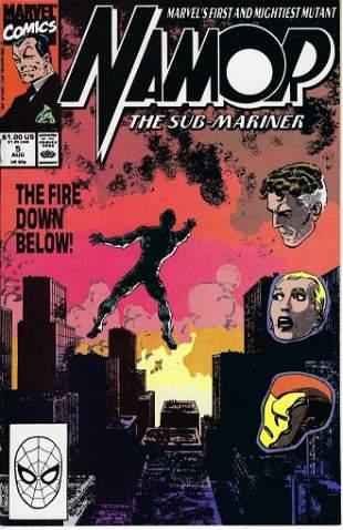Namor The Sub-Mariner Marvel Comic Book #5