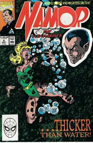 Namor The Sub-Mariner Marvel Comic Book #6