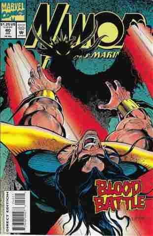 Namor The Sub-Mariner Marvel Comic Book #40