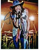 Stephen Tyler signed Aerosmith photo