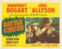 Battle Circus 1953 original vintage lobby card