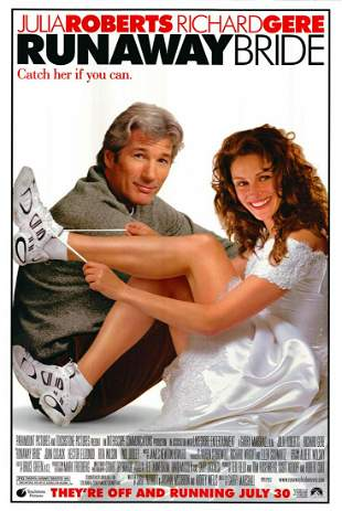 Runaway Bride 1999 original movie poster