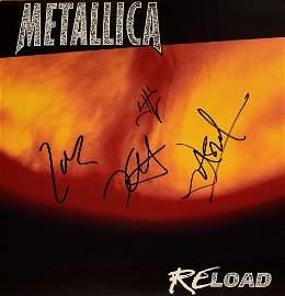 Metallica signed ReLoad album