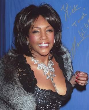Mary Wells signed photo